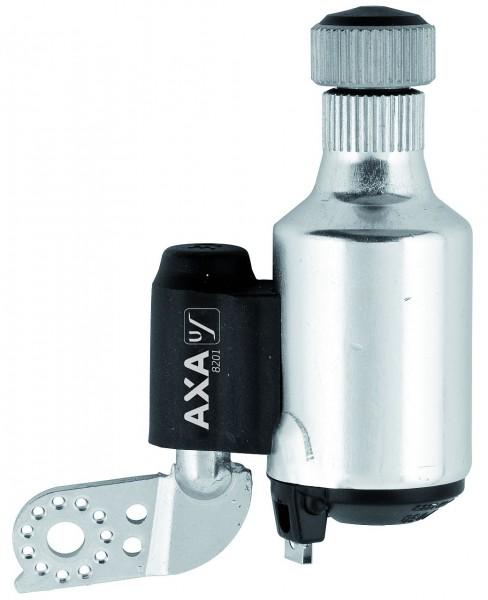 01144 Dynamo 8201, 6 V - 3 W, LINKS, Alu, Axa