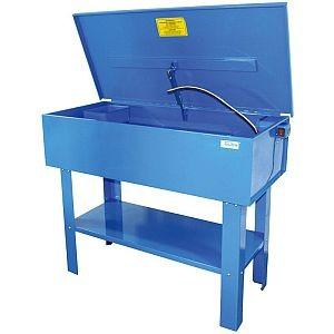 40855 Teilewaschgerät, 150 Liter Volumen 1130 x 545 x 885 mm, mit Deckel, mit Schalter, Pumpe