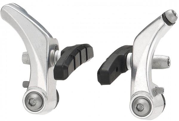 03140 Cantilever-Bremse, Alu, EK-Verpackung, einstellbar, silber