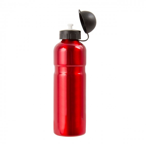 31348 Trinkflaschen, 0.75 Liter, Aluminium, rot