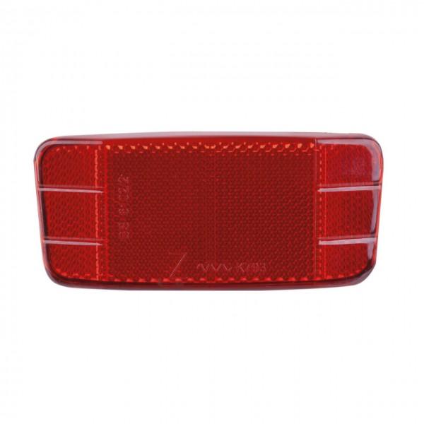 01530 Reflektor, rot, Montage an Gepäckträger, STVZO