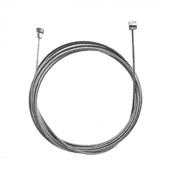 09230 Brems-Innenzug, Universal = 2 Nippel, Tonne & Birne (6 x 8, 7 x 6), Länge 2000 mm