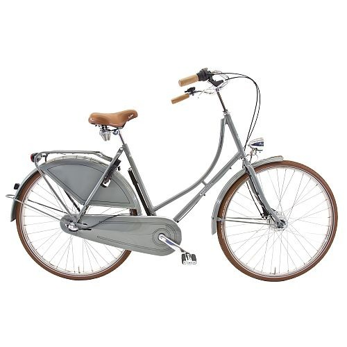901350g Rossborn Plezier Nostalgie, Shimano Nabendynamo+Rollerbrake, Shimano 3 Gang, Damen, 50 cm