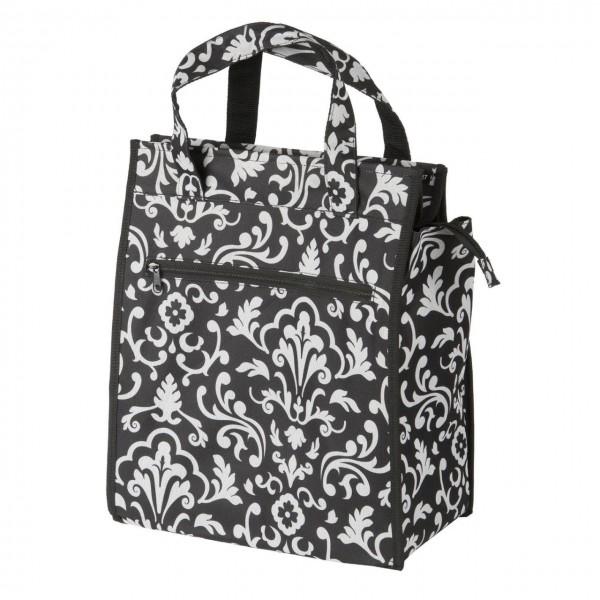 13570 Shopper Seitentasche, integrierter justierbarer Gepäckträgerhalter, Modell FLOWER