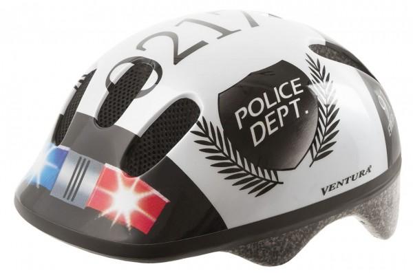 33806 Fahrradhelm, S/M = 52-57 cm, Kinder, Design Police