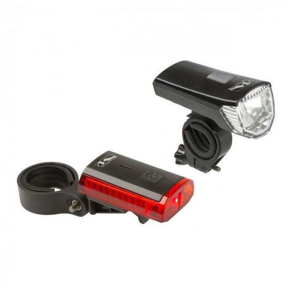01424 Beleuchtungs-Set Atlas K11, 28 Lux, 70 Lumen, USB, Lithium-Akku, Blisterverpackung