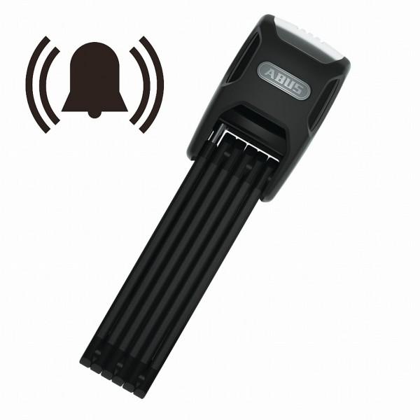 25171 Bordo Alarm 6000A/ 90, Falt-Schloss, 90 cm, + SH-Halter, schwarz