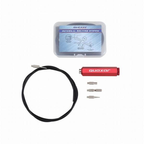 32605 Einziehhilfe zur Verlegung von innenverlegten Zügen und Kabeln im Rahmen, Quaxar