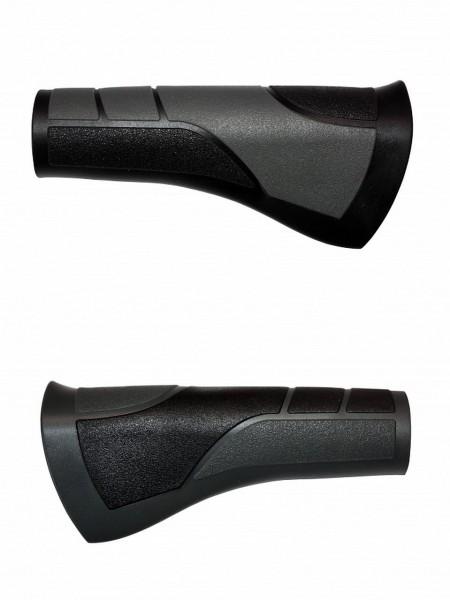 08138 Ergonomiegriff, Wings II 443, Paar (120 + 120 mm), schwarz-grau