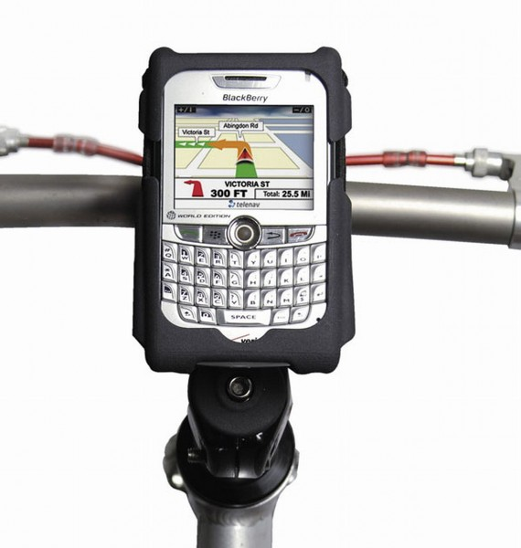 16758 Smart Phone Caddy, praktische Halterung für alle gängigen Smart-Phones, schwarz