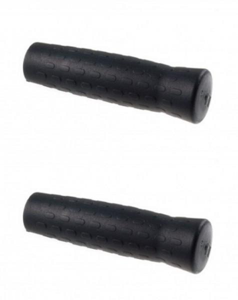 08109 Griff/ Fahrradgriff, Paar (120 + 120 mm), schwarz