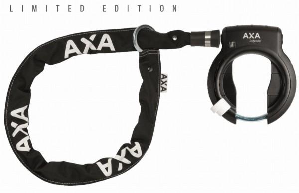 Limited Edition-SET Axa Rahmenschloss Defender mit Axa Einsteck-Kette RLC 100