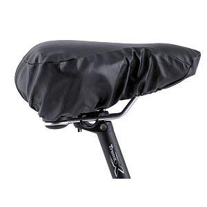 24628 Satteldecke Touren Leatheret, Kunstleder, 20 mm Schaumstoffeinlage, 280 x 250 mm, schwarz