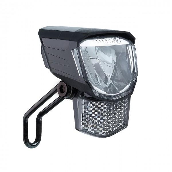 01281 LED Scheinwerfer, Tour 45, 45 Lux, Schalter, Standlicht, Frontreflektor, Halter, schwarz