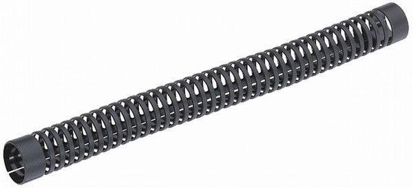 00164 Rahmenschutz/ Kettenstrebenschutz, Ø 20 - 23.5 mm, Kunststoff, schwarz