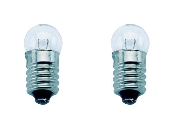 01932 Rücklicht Glühlampe, 6 V - 0.6 W, Schraubsocke E10, lose verpackt, PHILIPS