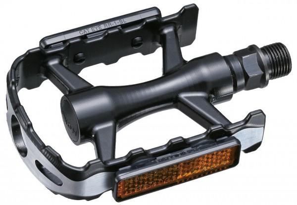 20222 MTB-/ Trekking-Pedal, Marwi SP 600, Aluminium, Boran-Achse, kugelgelagert, schwarz